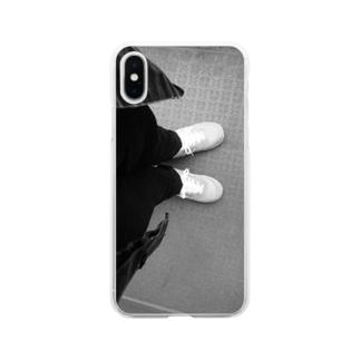 (みかん)🍊のASHIMOTO Soft clear smartphone cases