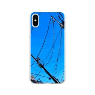 晴天 Soft clear smartphone cases