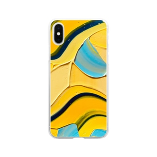 Blue cheese cake  Soft clear smartphone cases