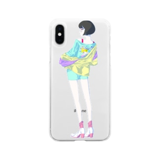 AKANE Soft clear smartphone cases