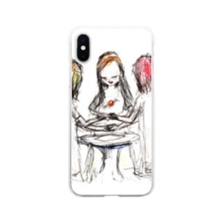 ムラナギ/ヌガーポップ Soft Clear Smartphone Case