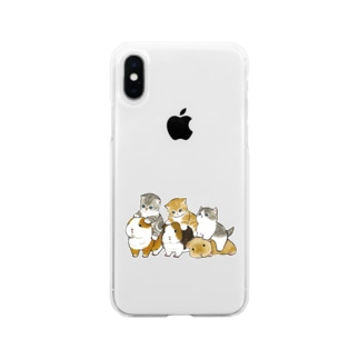 mofusandのモルモット試乗会 Soft clear smartphone cases