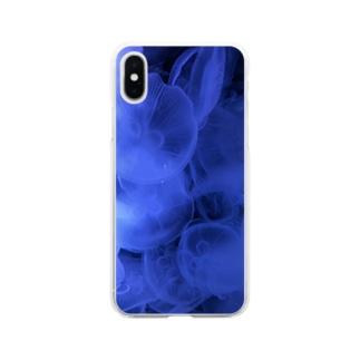 クラゲ   可愛くない? Soft clear smartphone cases