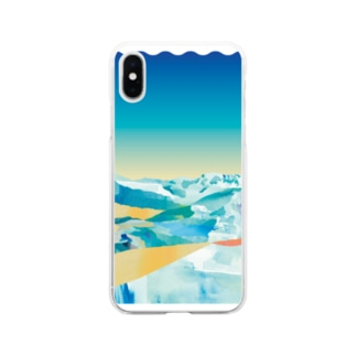 Summer Snow Soft Clear Smartphone Case
