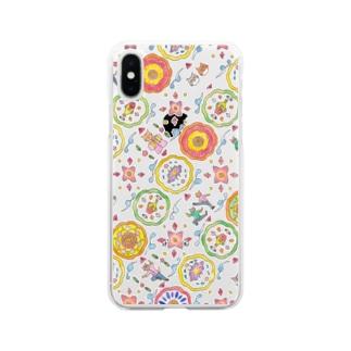 kangfu cat 2 Soft clear smartphone cases