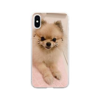 ルルーシュ君 Soft clear smartphone cases