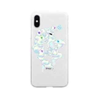 おめめちゃんず Soft clear smartphone cases