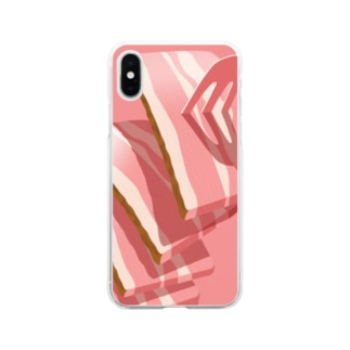 Bacon. Soft clear smartphone cases