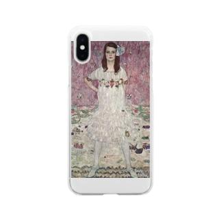 art-standard(アートスタンダード)のグスタフ・クリムト(Gustav Klimt) / 『メーダ・プリマヴェージ』(1912年) Soft Clear Smartphone Case