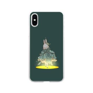 フルムーン Soft clear smartphone cases