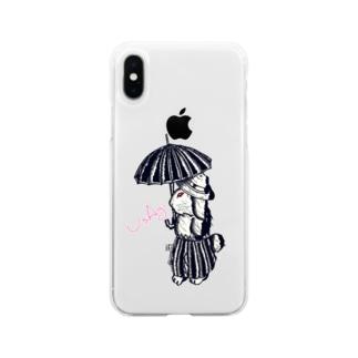 UsAgi  Soft clear smartphone cases