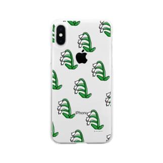 らんらんすずらんらん Soft clear smartphone cases