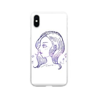 juraこ Soft Clear Smartphone Case