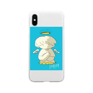 ばいび  Soft clear smartphone cases