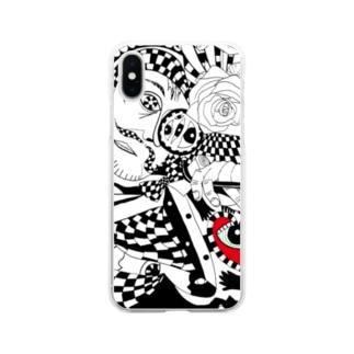 多角的視点 Soft clear smartphone cases