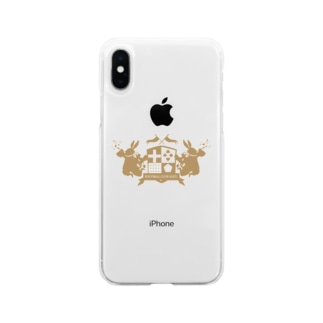 F.C.ALICE OFFICIAL GOODS Soft clear smartphone cases