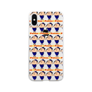 Police Soft clear smartphone cases