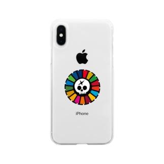 壊レタ歯車のSDGs海賊団-210310 Soft clear smartphone cases
