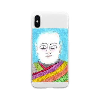 僧侶 Soft clear smartphone cases
