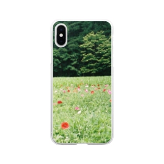 flower Soft clear smartphone cases