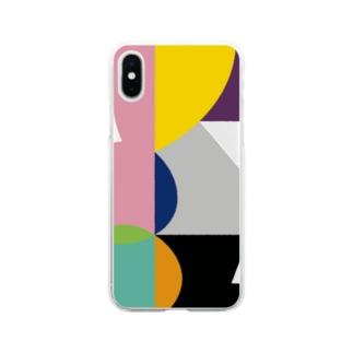 ソフトクリア スマホケース/f_002(トリミングシリーズ) Soft clear smartphone cases