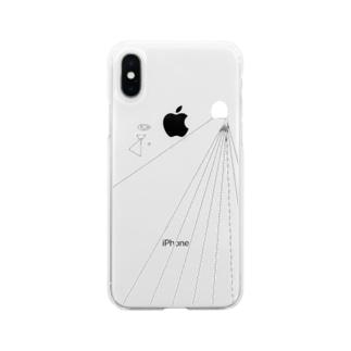 希死念慮 Soft clear smartphone cases