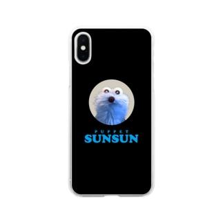 スンスンのかお Soft Clear Smartphone Case