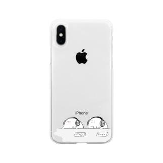 「実況、解説はワタクシアイホートとアイホートでお送りします。」 Soft clear smartphone cases