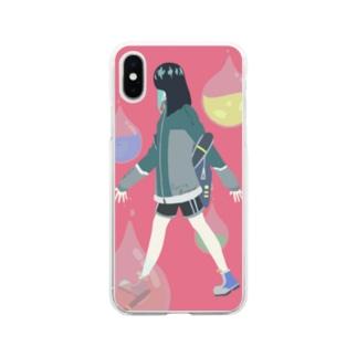 Spring walker Soft clear smartphone cases