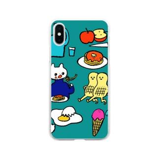 たべる Soft Clear Smartphone Case
