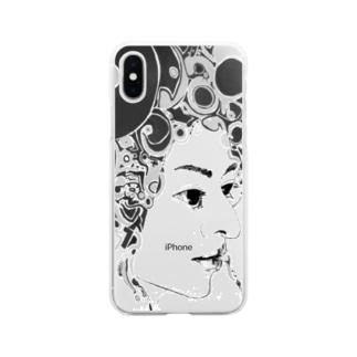 シヴァ14 Soft clear smartphone cases
