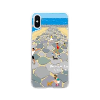 湘南ランドスケープ05:茅ケ崎ヘッドランド Soft clear smartphone cases