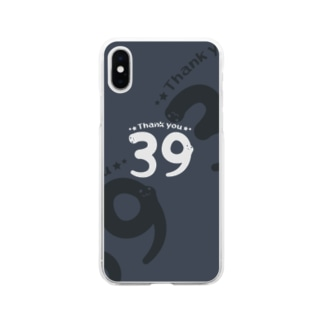 CT118 サンキュー39*Thank you*Ebg Soft clear smartphone cases
