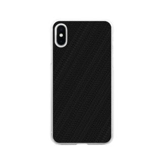 タイ語グッズ(バンコクの正式名称・ブラックエディション) Soft clear smartphone cases