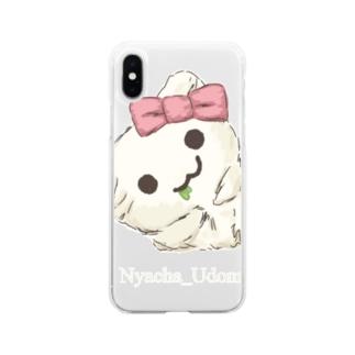 I'm Nyacha_Udonneko! Soft clear smartphone cases