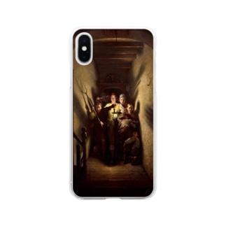 チャールズ・ウェスト・コープ 《夜のアラーム、前進!》 Soft Clear Smartphone Case