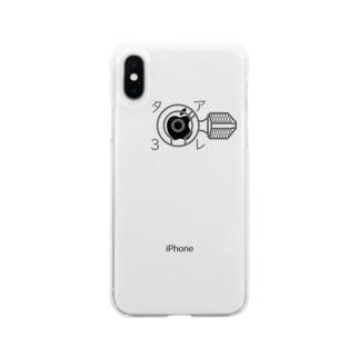 89式愛 Soft clear smartphone cases