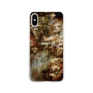 ピーテル・パウル・ルーベンス 《ヴィーナスの饗宴》 Soft clear smartphone cases