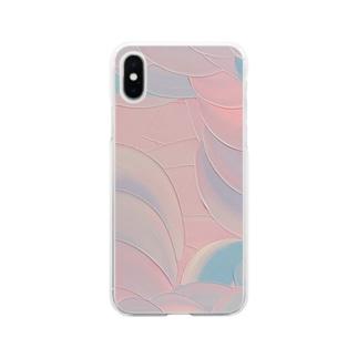 櫻姫 Soft clear smartphone cases