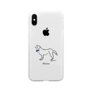 ohkami ブルータイ Soft Clear Smartphone Case