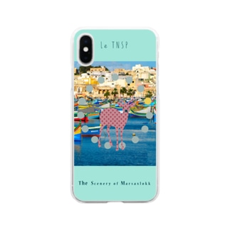 The Scenery of Marsaxlokk Soft clear smartphone cases