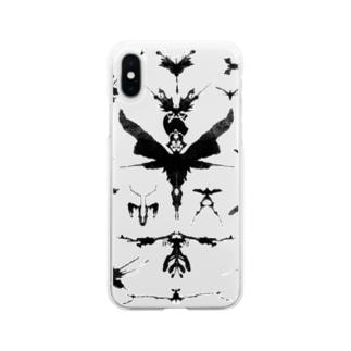 霧蛾夢虫01 Soft clear smartphone cases