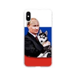 W Putin Soft clear smartphone cases