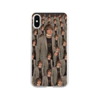 はっとりさん Soft clear smartphone cases