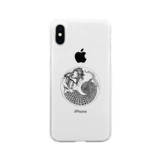 カプリコーンな女 Soft clear smartphone cases