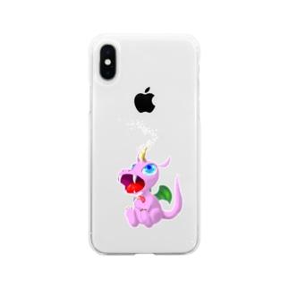 ハートチャージ Soft clear smartphone cases