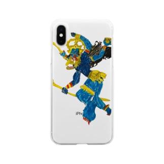かーりー Soft clear smartphone cases