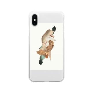 圧縮/限界 Soft clear smartphone cases