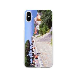 ポルトガル:サン・ジョルジェ城から見たリシュボア(リスボン)の風景写真 Portugal: Castelo de São Jorge / Lisboa ( Lisbon )  Soft clear smartphone cases