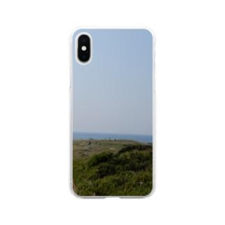 角島 Soft clear smartphone cases